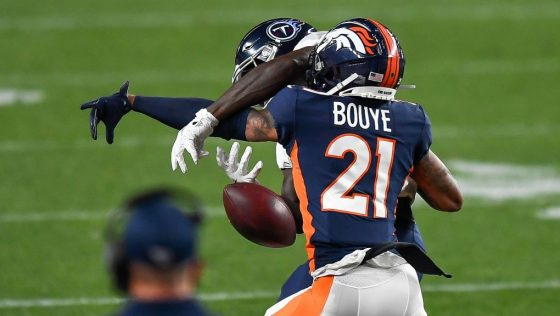 Broncos are releasing A.J. Bouye
