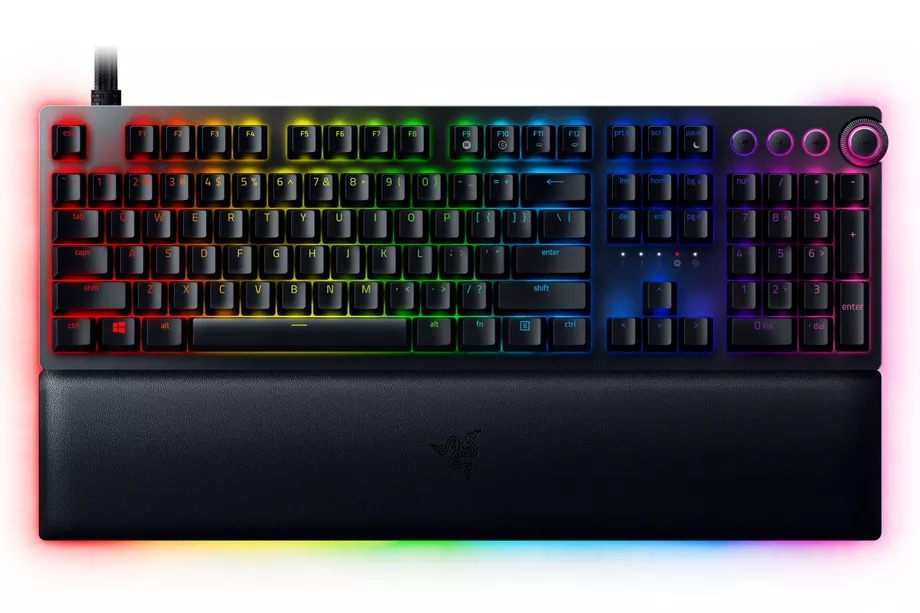 Razer's Huntsman V2 Analog is the latest keyboard built to mimic a controller's joysticks